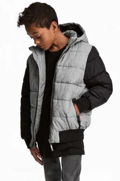 Image Warm jacket with a hood H&M 0500357001