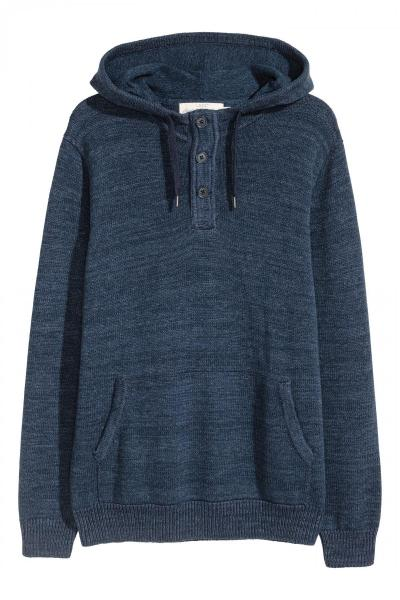 Image Cotton Knit Hoody H&M 0515780002