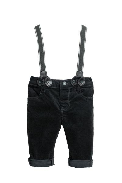 Image Pants with suspenders H&M 0544730006