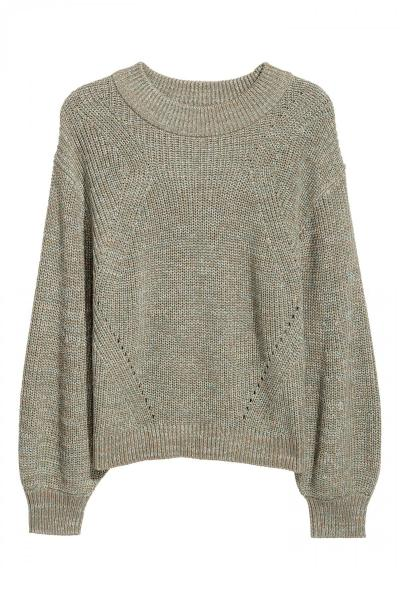 Image Knitted sweater H&M 0561261002