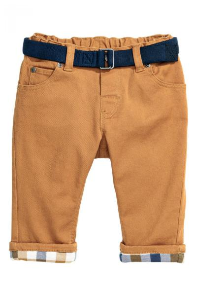 Image Lined cotton pants H&M 0414156005