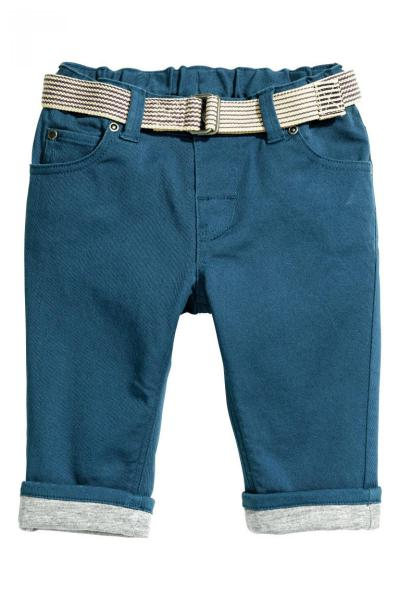 Image Lined cotton pants H&M 0414156006