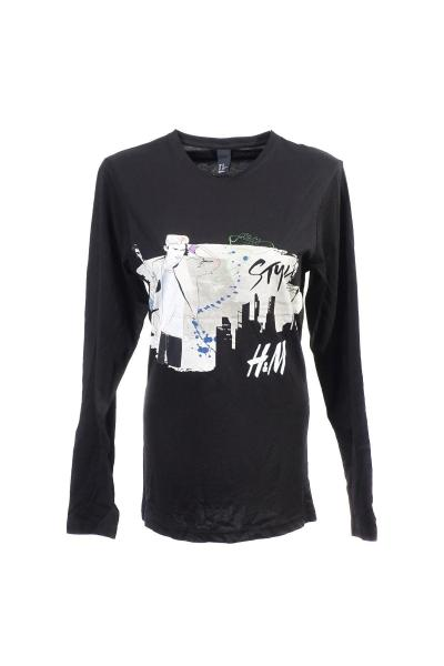 Image T-shirt with long sleeves H&M 120120191251