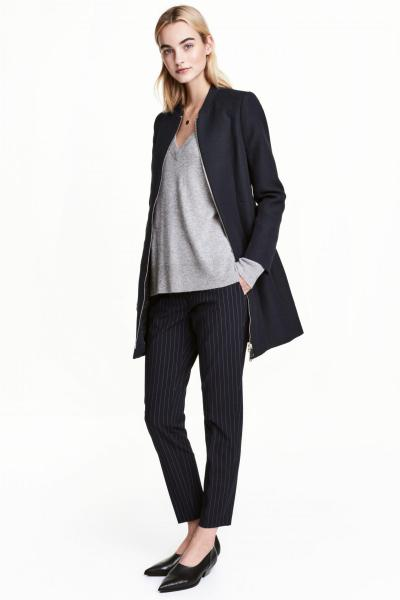 Image Textured coat H&M 0458213002