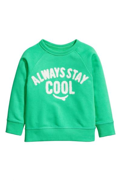Image Sweatshirt with print H&M 0575527004