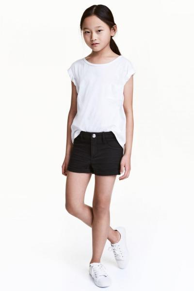 Image Denim shorts H&M 0462772001