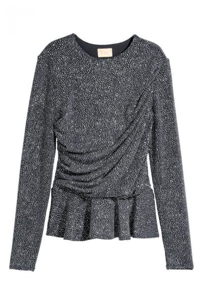 Image Sequined Top H&M 0589265001