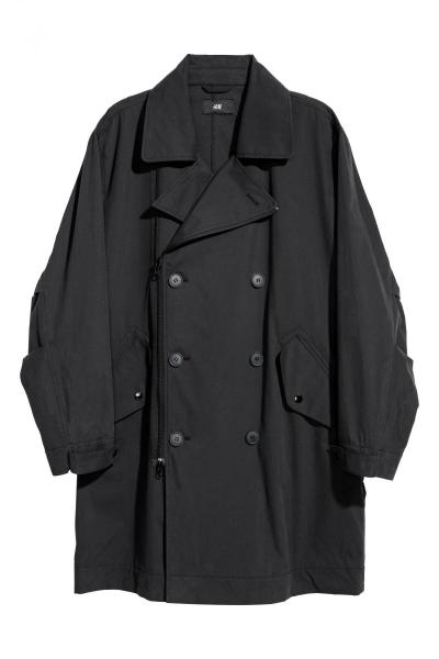 Image Double breasted coat H&M 0590361001